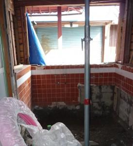 お風呂の配管
