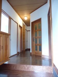玄関廊下クロス