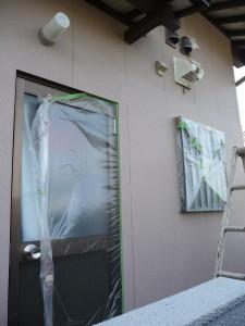 窓入替の外壁塗装