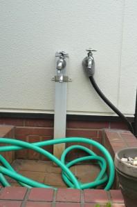 市水道の散水栓