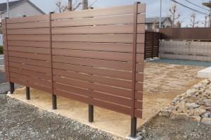 フェンスの完成