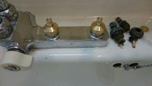 ハンドル水栓修理