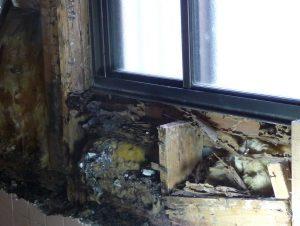 窓まわり被害
