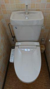 シャワートイレ施工後